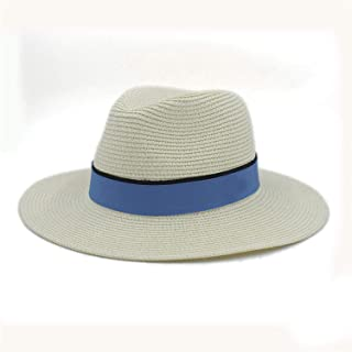 2e111a3b9b0 Fashion Women Summer Straw Maison Michel Sun Hat for Female Wide Brim Beach  Seaside Panama Hat