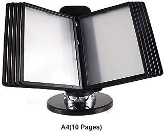 Acciaio office hippo Classificatore in Metallo con 2/cassetti A4 Black H670xW400xD410mm for A4 Filing