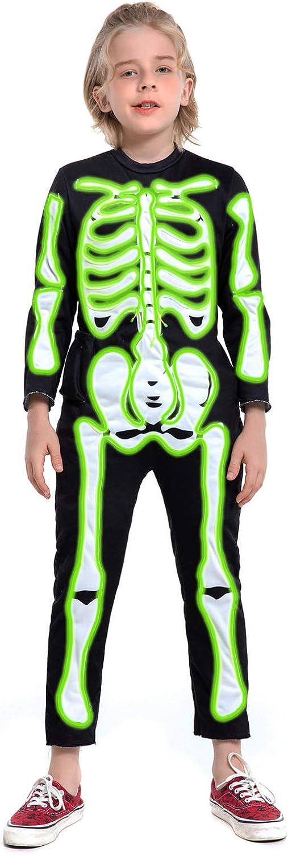 HSCTEK Light up Costume Ranking TOP20 Skeleton Child Reservation