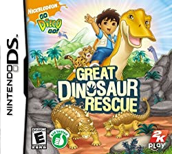 Go, Diego, Go!: Great Dinosaur Rescue - Nintendo DS: Artist Not Provided: Video Games