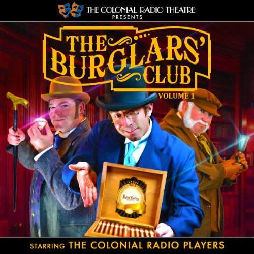 The Burglars' Club, Volume 1 audiobook cover art