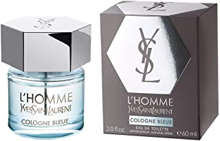 Yves saint laurent lhomme cologne bleue eau de toilette spray 60ml.