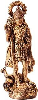 Purpledip Rare Miniature Statue Murugan Karthikeya, Unique Collectible Gift (11407)