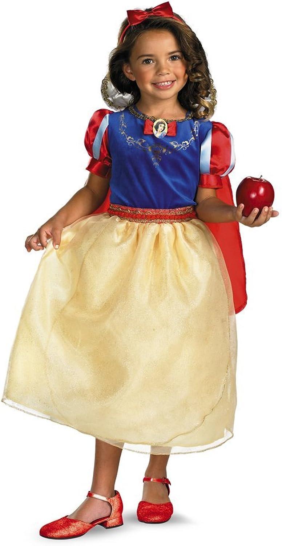 Snow White Deluxe Costume Girls Medium 7-8 (1 per package)