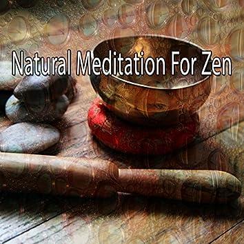 Natural Meditation For Zen