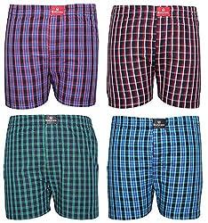 BODYCARE Pure Cotton Multi-Coloured Boxer for Boys & Kids