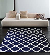 DiscountWorld 10076 Non-Slip Rubber Back Extremely Durable Anti-Slip Water Resistant Small Rug for Kitchen Hallway Entrance Doormat Home Décor Smooth Rug Design