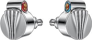 LuoMei FiiO FD5 flaggskepp Hi-res hörlurar, Berylliumbelagd DLC 1DD öronsnäckor, utbytbar kontakt 2,5 mm/3,5 mm/4,4 mm hög...