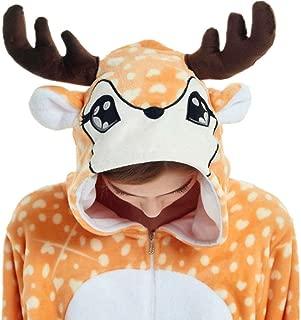 Unisex Adult Onesie Pajamas for Women Men Teens Animal Halloween Costumes