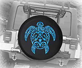 Spare Tire Cover Sea Turtle Diving Beach Marine Life Salt Water Ocean (Fits: Jeep Wrangler Accessories, Camper, RV Accessories) Size