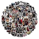 The Vampire Diaries - Pegatinas para ordenador portátil (100 unidades), regalo para niños, adolescentes, adultos, jóvenes, impermeables, pegatinas de vinilo para scrapbooking, monopatín