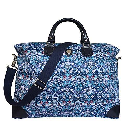 Bonfanti Liberty ladrón de la Fresa Bolsa de Viaje - Azul
