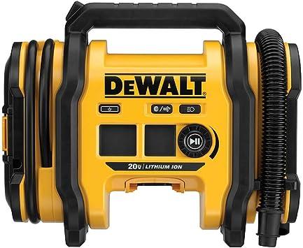 DEWALT 20V MAX Cordless Tire Inflator, Tool Only (DCC020IB): image