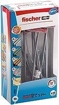 fischer DUOTEC 10 S PH, kantelpluggen met panheadschroef, 2-componenten pluggen, holle pluggen voor bevestiging in gipspla...