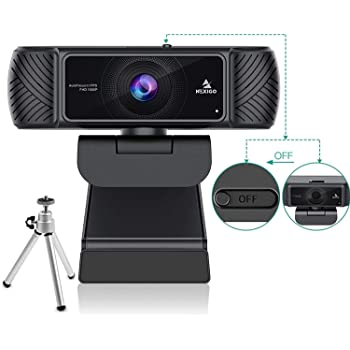 Webcam 1080P 60FPS with Microphone for Streaming, Advanced AutoFocus, w/Privacy Cover and Tripod, NexiGo N680P Pro Computer Web Camera for Online Learning, Skype Zoom Teams, Mac PC Laptop Desktop