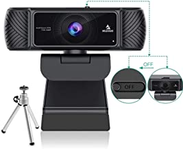 NexiGo 1080P 60FPS Webcam with Microphone for Streaming, Advanced AutoFocus, w/Privacy Cover and Tripod, N680P Pro Compute...