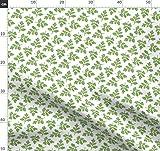 Koriander, Grüne Blätter Stoffe - Individuell Bedruckt