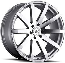 Black Rhino Traverse Silver Wheel (20x9.0/6x135mm ,+30mm Offset)