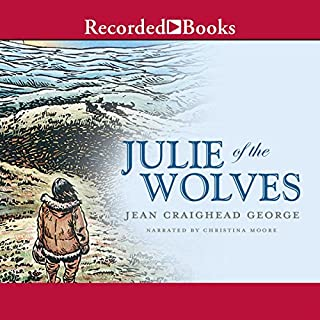 Julie of the Wolves audiobook cover art