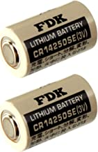 2x FDK CR14250SE 3V 1/2 AA Lithium Battery Replaces Sanyo CR12600SE CR2NP