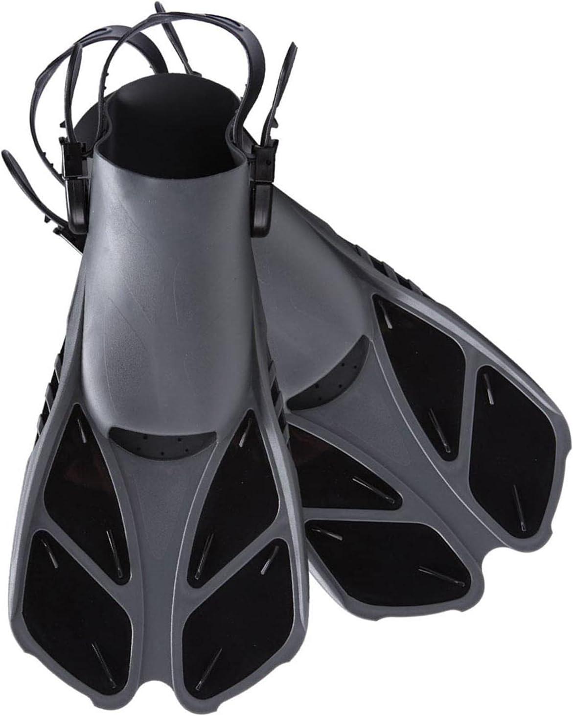 Swim Fins Snorkel Fin Short Diving Fins Swim Flippers Open Heel