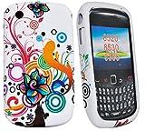 Accessory Master 5055403840376 - Carcasa de silicona con diseño de flores para BlackBerry Curve 8520