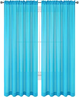 Best turquoise colour curtains Reviews