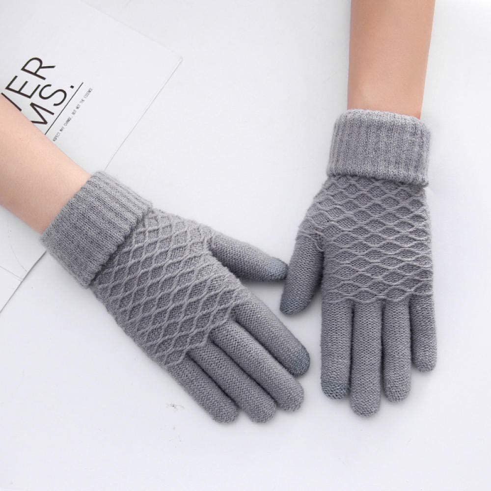 Women's Cold Weather Gloves Touch screen plus velvet touch screen