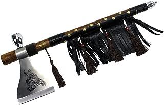 Wuu Jau Co L-115 Native American Peace Pipe Tomahawk Axe, 18