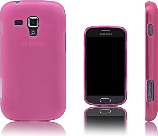 Xcessor Vapour Flexible TPU Case for Samsung Galaxy S Duos/Trend s7562 - Pink