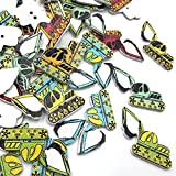 Bigbarry Vistoso 50pc Transporte Mixto Costura Botones de Madera para Ropa de Tejer artesanía Scrapbooking DIY Tela Accesorios de Costura Exquisito (Color : Color 15)
