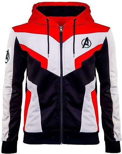 cuirTrendz Avengers  Endgame Sweat à Capuche Homme en Coton (XXS à 5XL) Avengers Costume