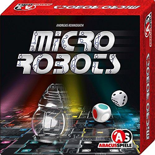 ABACUSSPIELE 06161 - Micro Robots, Brettspiel, Würfelspiel
