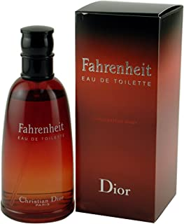 Fahrenheit By Christian Dior For Men. Eau De Toilette Spray Red, 3.4 Oz.