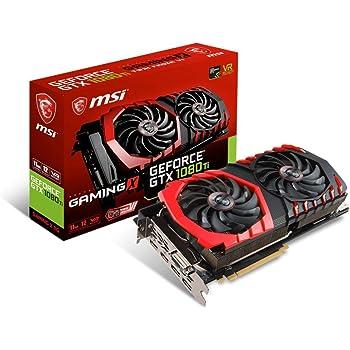 msi gtx 1080 ti gaming x 11g carte graphique - 11 go - gddr5x sdram MSI NVIDIA GeForce GTX 1080 TI GAMING X 11G 11 GB GDDR5X 352 Bit