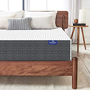 Full Mattress Inofia 8 Inch Full Size Mattress in a Box Memory Foam Mattress for Full Size Bed High Resilience with Ergonomic Breathable Foam Cool Gel Medium Firm Mattress for Cooling Sleep