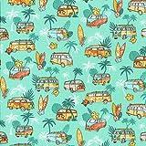 Textiles français Baumwollstoff | SURF Stoff -