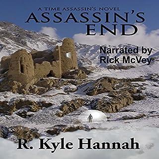 Assassin's End audiobook cover art
