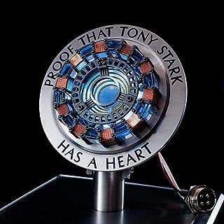 B LL La première génération de Lampe de Poitrine de réacteur Iron Man Arc, modèle de réacteur en Alliage Jouet Collection ...