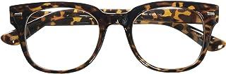 Nerd Geek Oversized Eye Glasses Horn Rim Retro Framed Clear Lens Spectacles