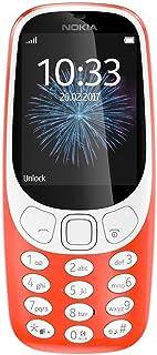 نوكيا 3310 2017 بشريحتي اتصال - 16 ميجا، الجيل الثالث ، 2 ميجابيكسل، احمر