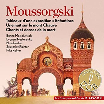Moussorgski: Tableaux d'une exposition, Enfantines, Une nuit sur le mont Chauve & Chants et danses de la mort (Les indispensables de Diapason)