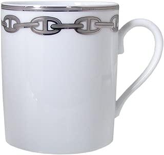 エルメス HERMES シェーヌダンクルプラチナ マグカップ シングル 300ml 004134p【並行輸入品】