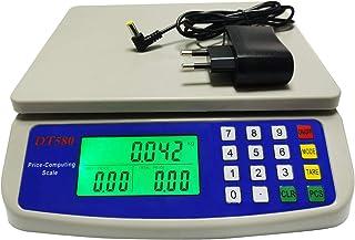 WCX Balance Cuisine Electronique de Précision - Balance Numérique Haute Précision, Acier Inoxydable LCD Rétroéclairé Auto-...