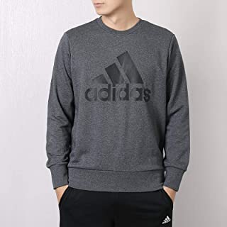 adidas 阿迪达斯男装 秋冬 运动服休闲透气圆领卫衣套头衫
