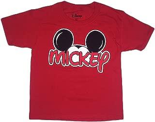 Disney Mickey Mouse Boys Family T Shirt