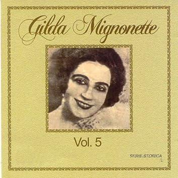 Gilda Mignonette, Vol. 5 (Serie storica)
