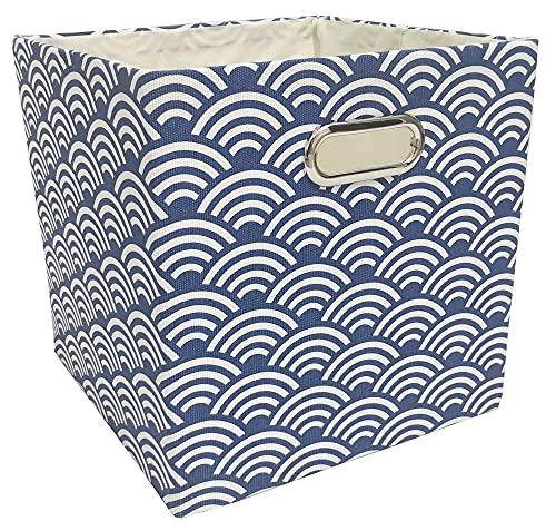 Cajas Almacenaje Cubo Plegable Caja de almacenamiento Ropa BINS DE ALMACENAMIENTO PARA JUGUETES Organizadores Cestas para Guardería Oficina Closet Estante Contenedor ( Color : 10 , Size : 28x28x28cm )
