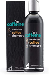 mCaffeine Naked & Raw Coffee Shampoo | Hair Fall Control | Protein & Argan Oil | All Hair Types | Sulphate & Silicone Free...