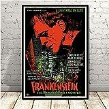 DSFJK Frankenstein Poster und Drucke, Universal Monsters